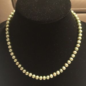 "14KY 18"" 7-8MM Cultured Strand Fine Pearl Necklace"